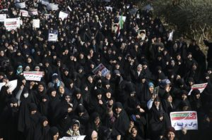 iran molla yürüyüşü